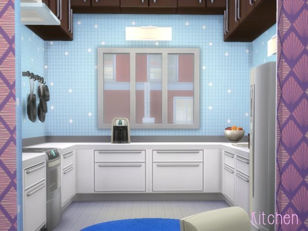 Lovely Lavender home by lenabubbles82 at TSR image 360 Sims 4 Updates