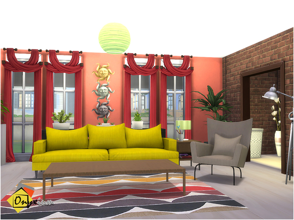 Orson Living Room by Onyxium at TSR image 3618 Sims 4 Updates