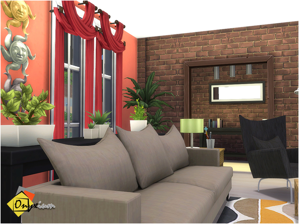 Orson Living Room by Onyxium at TSR image 3717 Sims 4 Updates