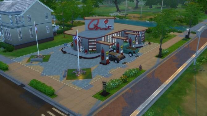 Drive Stop Shop no CC by Mykuska at Mod The Sims image 3814 670x377 Sims 4 Updates