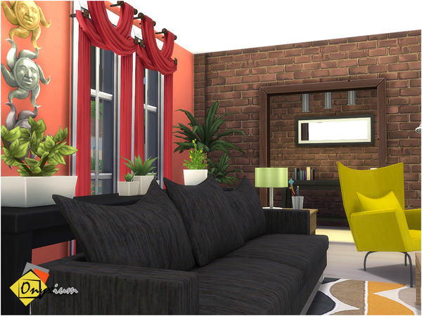 Orson Living Room by Onyxium at TSR image 3816 Sims 4 Updates