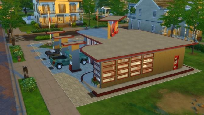 Drive Stop Shop no CC by Mykuska at Mod The Sims image 3916 670x377 Sims 4 Updates