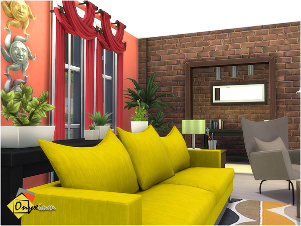 Orson Living Room by Onyxium at TSR image 3918 Sims 4 Updates