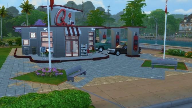 Drive Stop Shop no CC by Mykuska at Mod The Sims image 4015 670x377 Sims 4 Updates