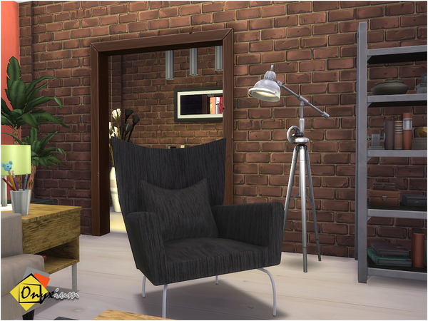 Orson Living Room by Onyxium at TSR image 4017 Sims 4 Updates