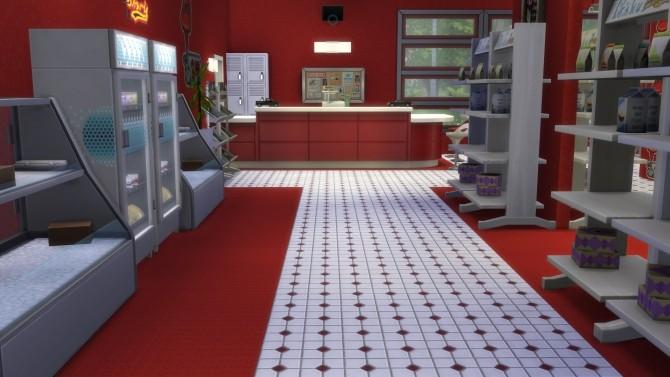 Drive Stop Shop no CC by Mykuska at Mod The Sims image 4121 670x377 Sims 4 Updates