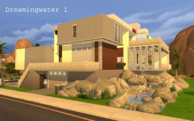 Beach House By Artrui At Mod The Sims 187 Sims 4 Updates