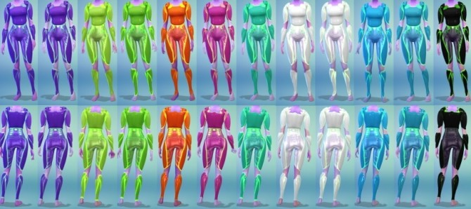 12 Female Alien Armor Recolors at The Simsperience image 414 670x298 Sims 4 Updates