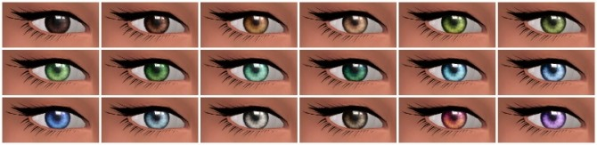 Converted Charlotte's TS2 eyes at Nyloa image 4224 670x163 Sims 4 Updates
