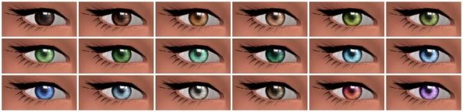 Converted Charlotte's TS2 eyes at Nyloa image 4224 670x163 Sims 4 Updates