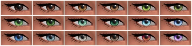 Converted Charlotte's TS2 eyes at Nyloa image 4323 670x163 Sims 4 Updates
