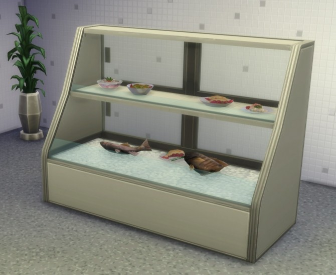 Sims 4 Clutter Free Food Displays by IgnorantBliss at Mod The Sims