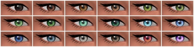 Converted Charlotte's TS2 eyes at Nyloa image 4423 670x163 Sims 4 Updates