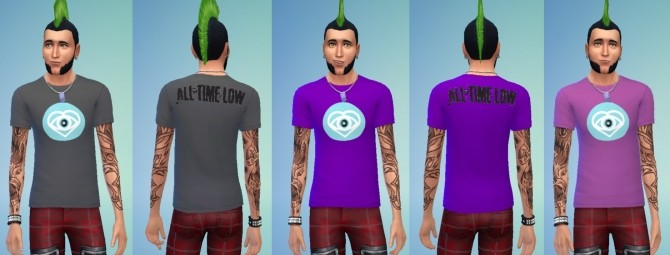 Sims 4 Future Hearts Shirts by SteveKareha at Mod The Sims