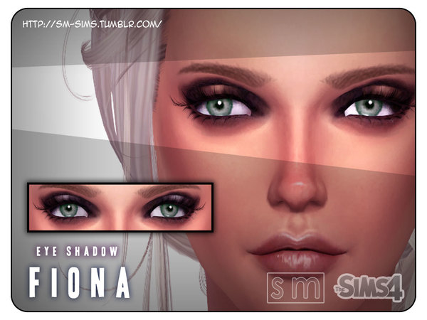 Fiona Eyeshadow by Screaming Mustard at TSR image 470 Sims 4 Updates