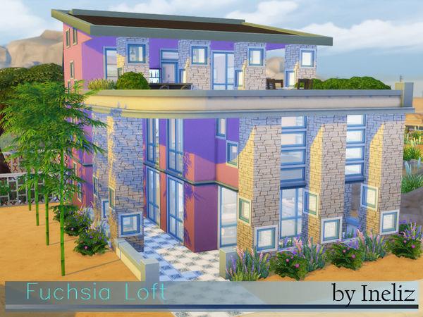 Fuchsia Loft by Ineliz at TSR image 4713 Sims 4 Updates