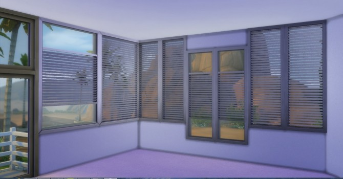 Sims 4 AP WinShutter by AdonisPluto at Mod The Sims
