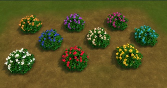 Sims 4 For The Outdoor plants by AdonisPluto at Mod The Sims