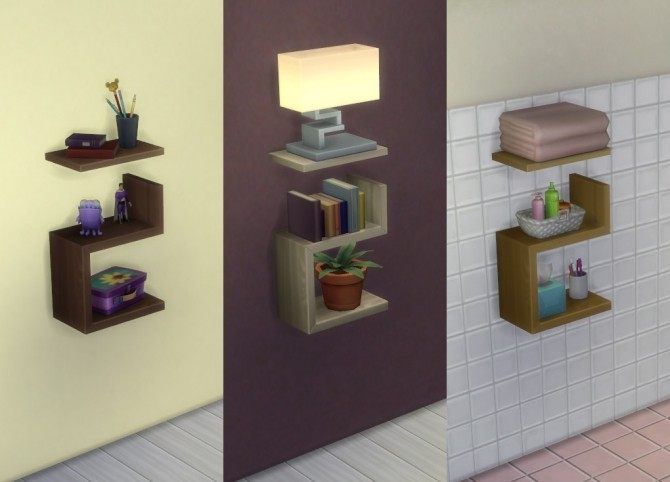 Intellectual Illusion Wall Shelf By Ignorantbliss At Mod