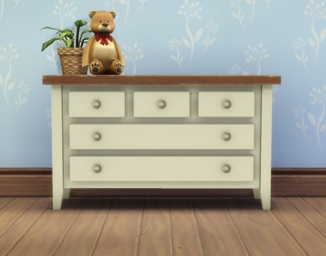 Boring Dresser by plasticbox at Mod The Sims image 486 670x527 Sims 4 Updates