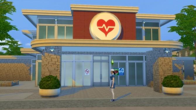 Sims 4 Florence Nightingales Memorial Hospital by Mykuska at Mod The Sims