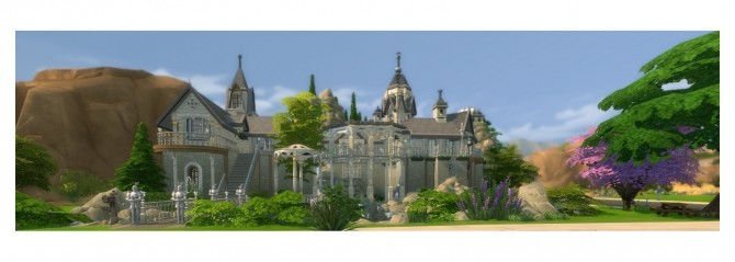 Rivendell, elven outpost (no CC) by artrui at Mod The Sims image 5025 670x239 Sims 4 Updates
