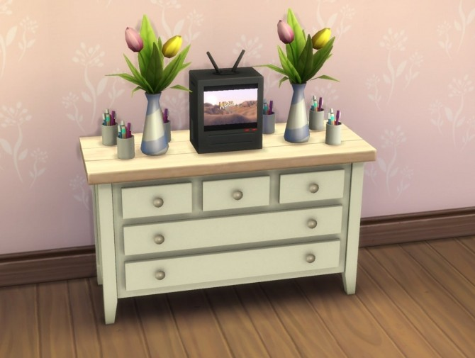 Boring Dresser by plasticbox at Mod The Sims image 507 670x505 Sims 4 Updates
