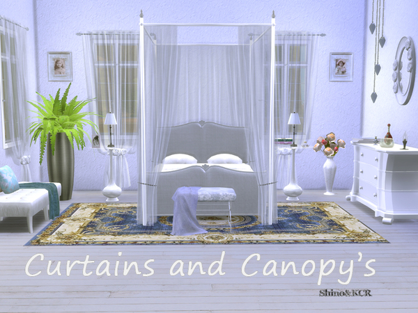 Curtains and Canopys by ShinoKCR at TSR image 510 Sims 4 Updates