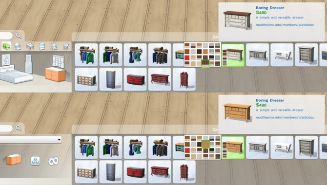 Boring Dresser by plasticbox at Mod The Sims image 5111 670x380 Sims 4 Updates