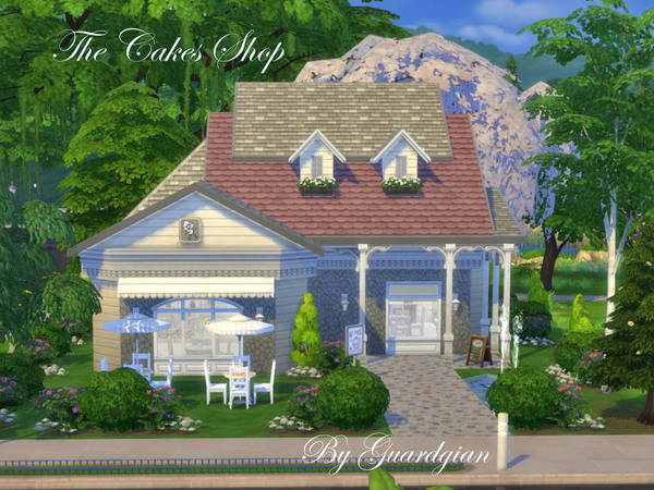 The Cakes Shop by Guardgian at TSR image 5119 Sims 4 Updates