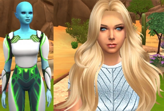 Ruby alien at Tatyana Name image 5128 670x453 Sims 4 Updates