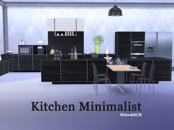 Kitchen Minimalist by ShinoKCR at TSR image 516 Sims 4 Updates