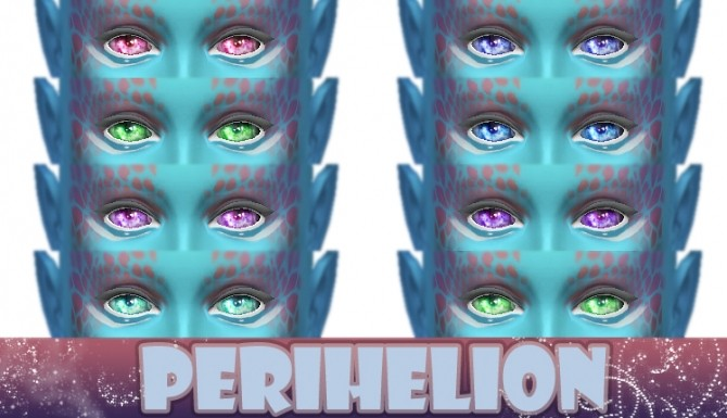 Perihelion 8 Non Default Alien Eye Colours by kellyhb5 at Mod The Sims image 5321 670x385 Sims 4 Updates