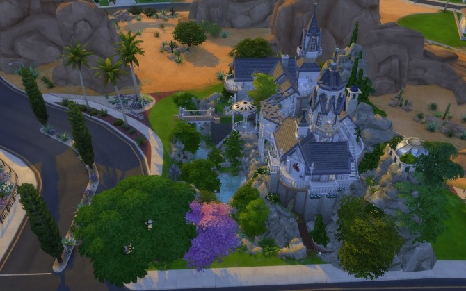 Rivendell, elven outpost (no CC) by artrui at Mod The Sims image 5324 670x419 Sims 4 Updates