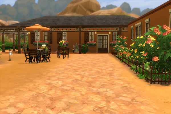 La casa del sol by madamechaos at blacky s sims zoo sims 4 updates - La casa del sol ...