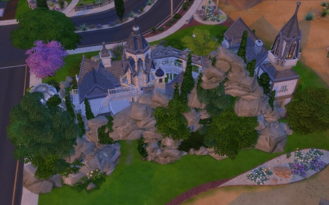 Rivendell, elven outpost (no CC) by artrui at Mod The Sims image 5422 670x419 Sims 4 Updates