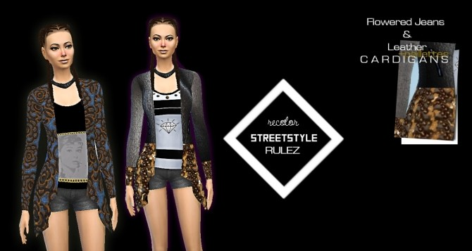 Sims 4 STREETSTYLE RULEZ outfit at Rimshard Shop