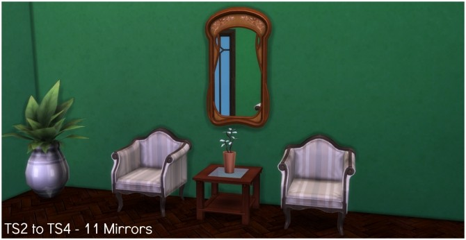 TS2 to TS4 11 Mirrors by Elias943 at Mod The Sims image 570 670x346 Sims 4 Updates