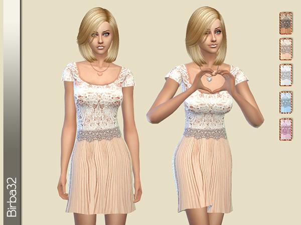 Cipria dress by Birba32 at TSR image 5718 Sims 4 Updates
