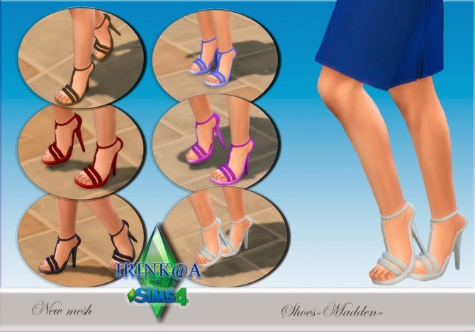 Sims 4 Maddlen sandals at Irink@a