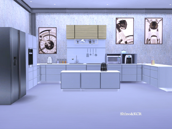Kitchen Minimalist by ShinoKCR at TSR image 616 Sims 4 Updates