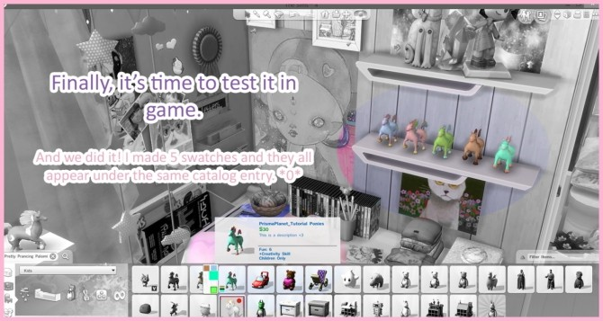 Sims 4 Mini Tutorial How to Make Additional Swatches with Sims 4 Studio at Prisma Planet