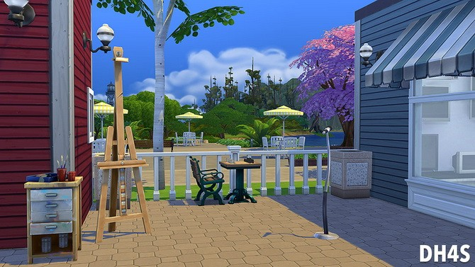 The Old Stones Mall by Samuel at DH4S image 640 670x377 Sims 4 Updates