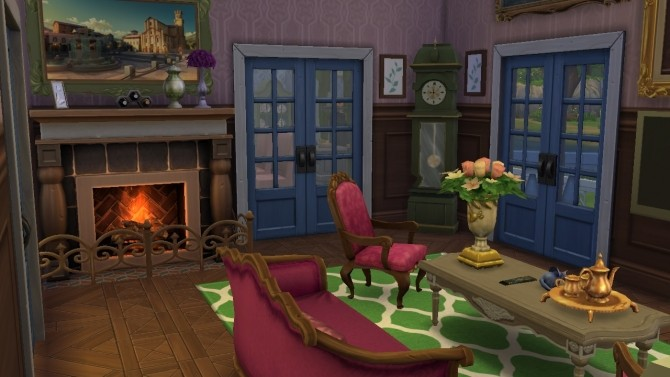 Sims 4 Victorian house by Bunny m at Mod The Sims