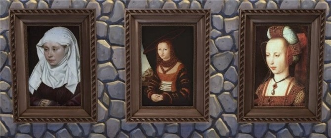 Medieval Portraits At Mara45123 187 Sims 4 Updates