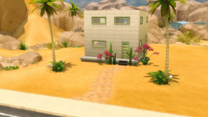 Sims 4 ARTSY 1br, 1ba house by arikur at Mod The Sims