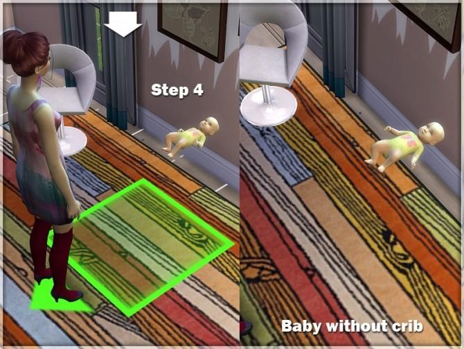 Sims 4 Baby and Crib at Sims Studio