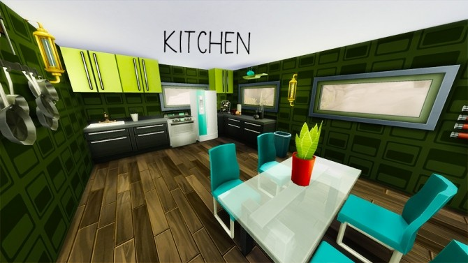 ARTSY 1br, 1ba house by arikur at Mod The Sims image 6715 670x377 Sims 4 Updates
