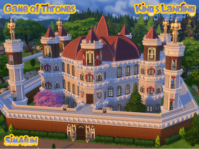 GoT Kings Landing (Approdo del Re) by Sim4fun at Sims Fans image 6812 Sims 4 Updates