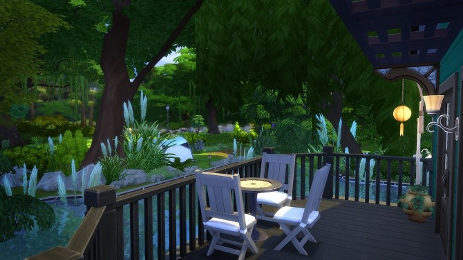 Sims 4 Tampa houseboat at Fezet's Corporation